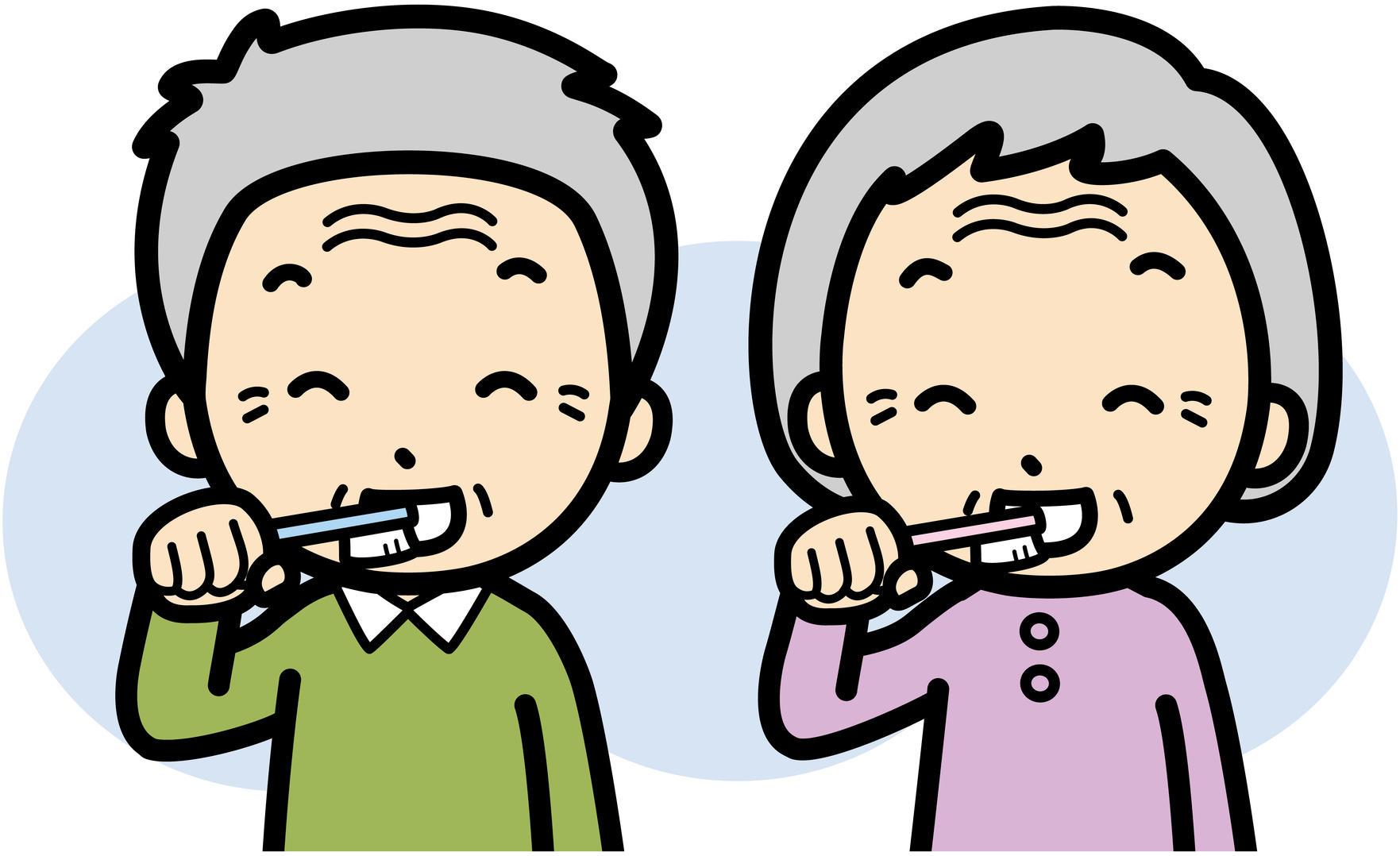 お口の中から健康に介護予防にも役立つご高齢者の口腔ケア介護の便利帖